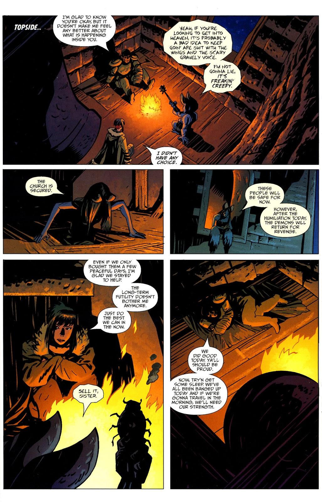 Strange Girl Issue #16 #17 - English 22