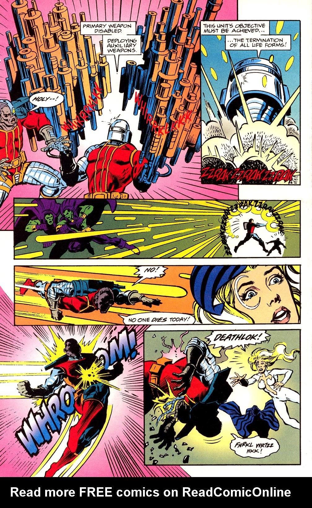 Read online Secret Defenders comic -  Issue #23 - 17