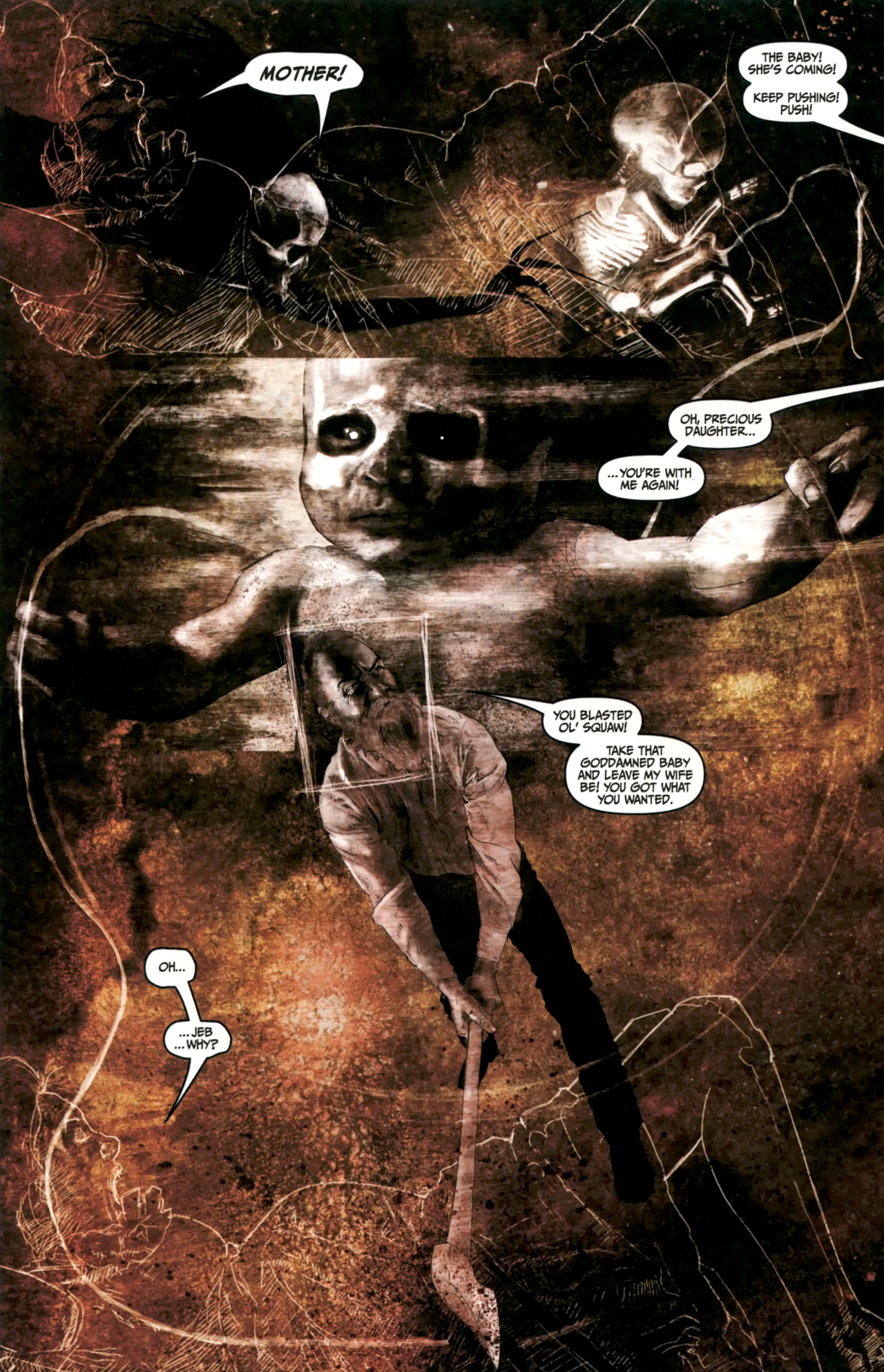 Read online Silent Hill: Past Life comic -  Issue #4 - 21