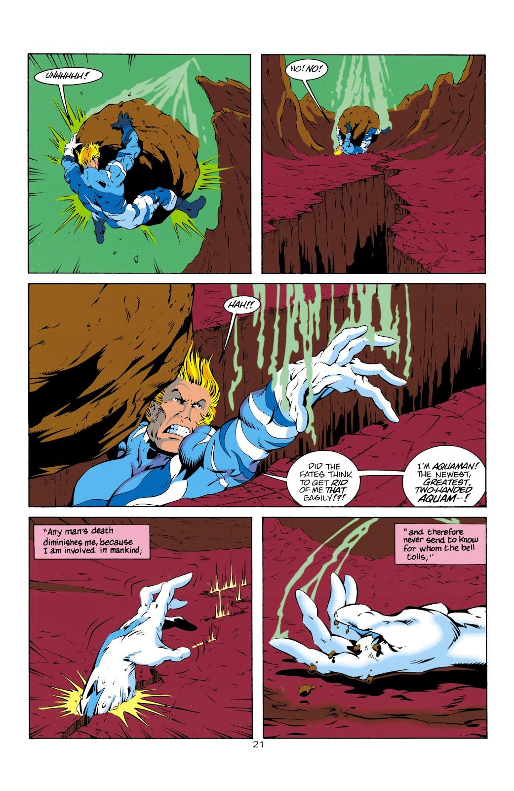 Aquaman (1994) Issue #14 #20 - English 22