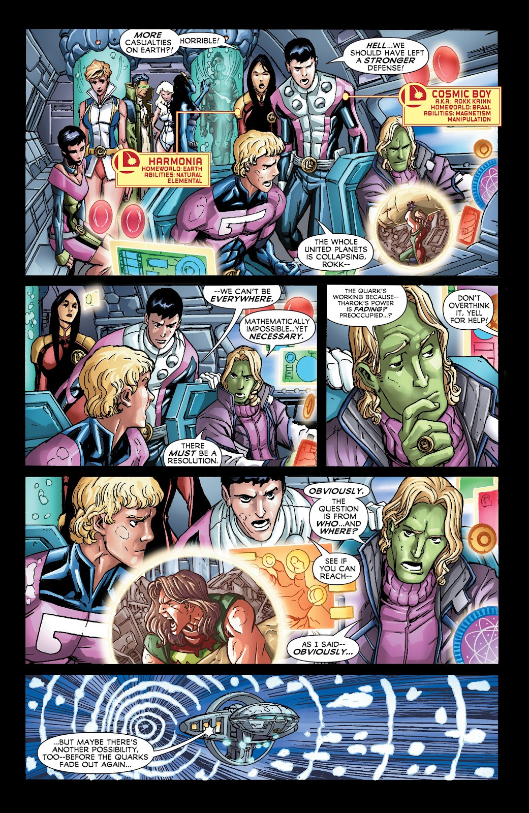 Legion of Super-Heroes (2011) Issue #21 #22 - English 3