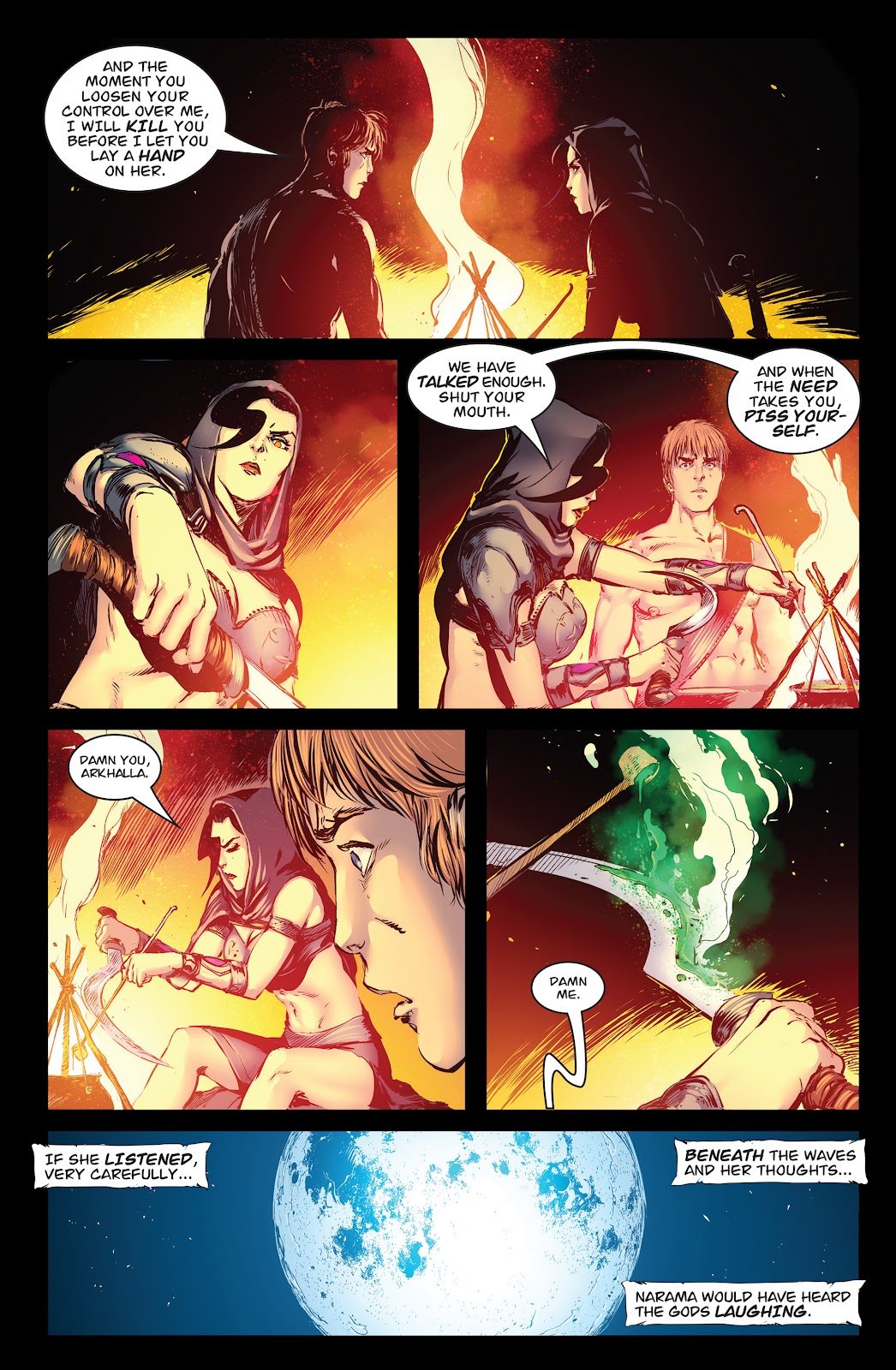 Queen of Vampires Issue #7 #7 - English 6