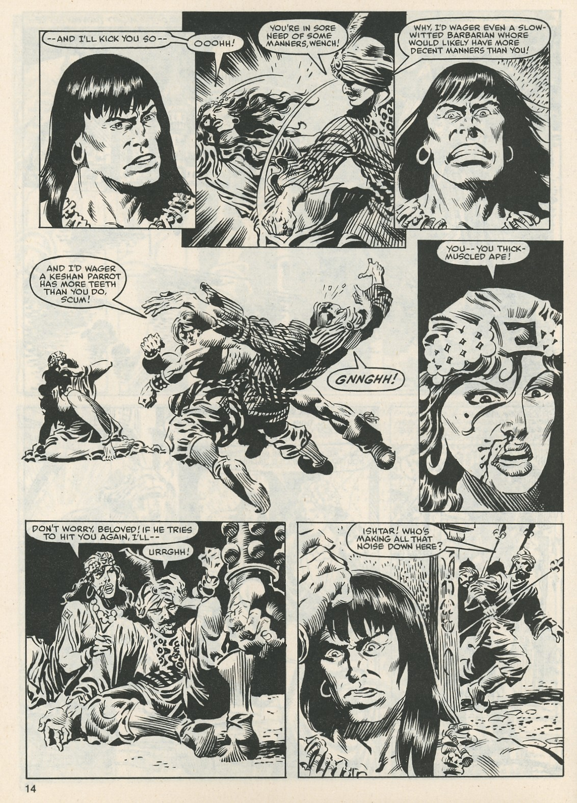 The Savage Sword Of Conan Issue #112 #113 - English 14