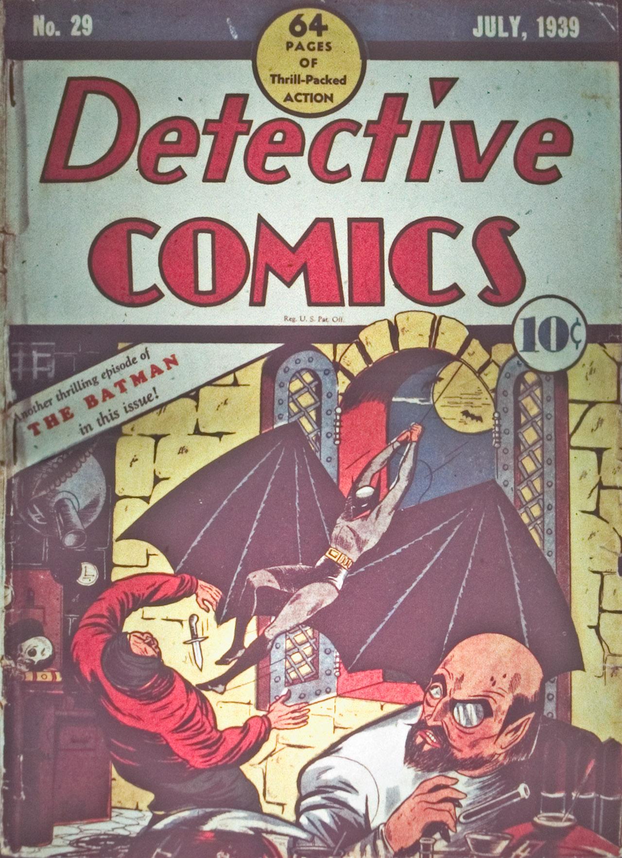 Detective Comics (1937) 29 Page 1