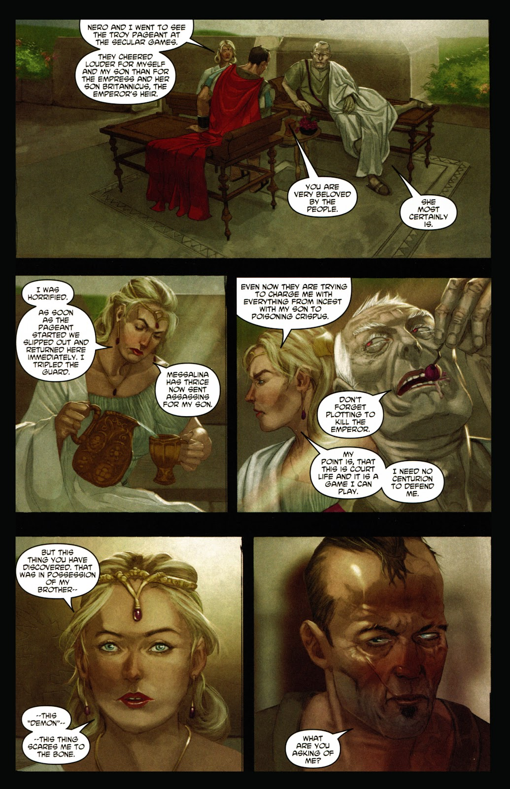 Caligula: Heart of Rome Issue #1 #1 - English 11