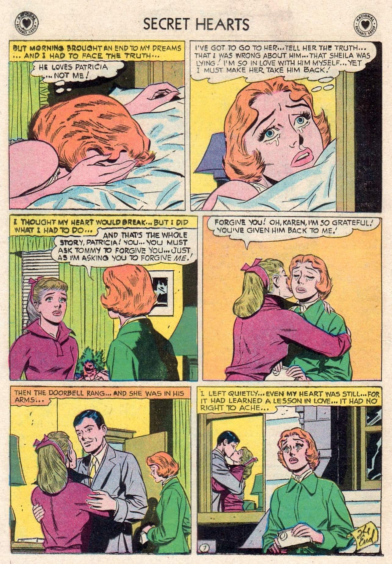 Read online Secret Hearts comic -  Issue #46 - 16