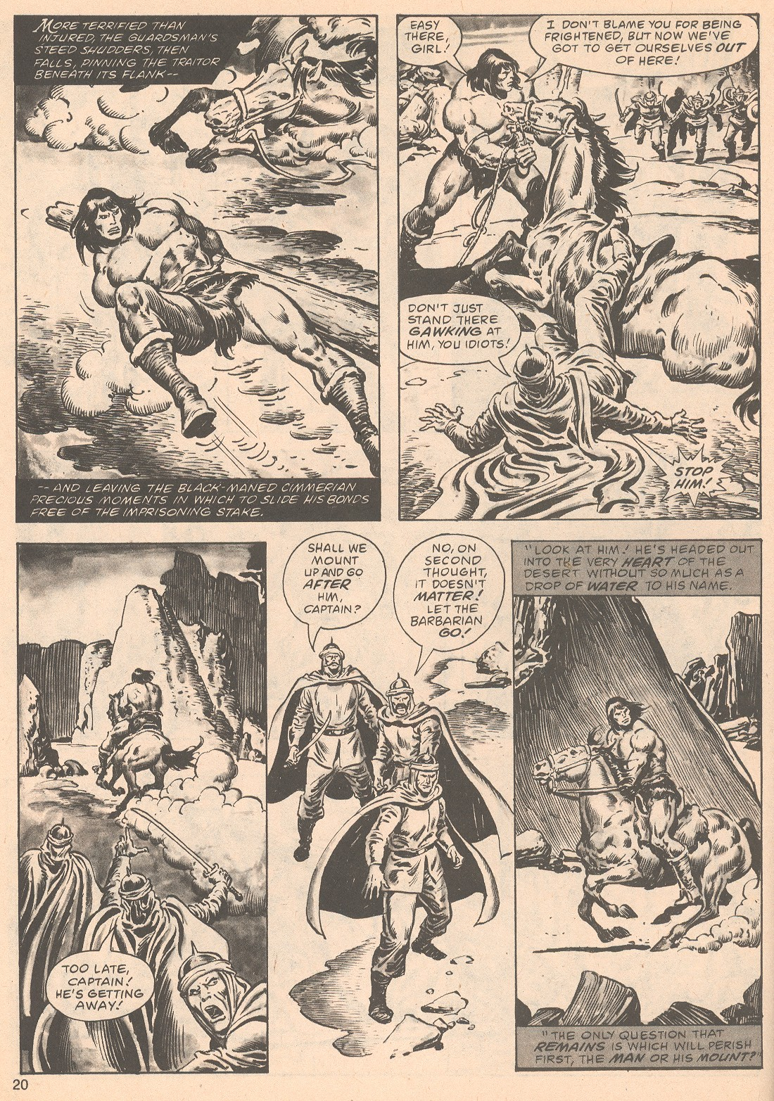 The Savage Sword Of Conan Issue #63 #64 - English 20