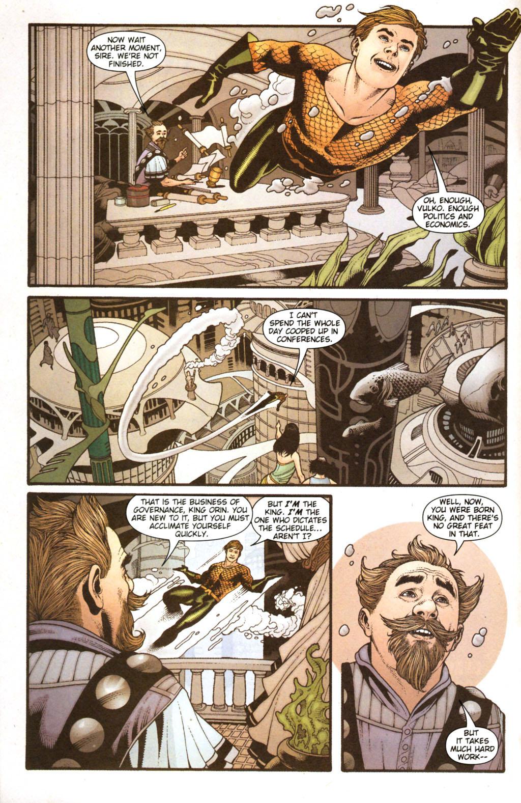 Read online Aquaman (2003) comic -  Issue #38 - 7