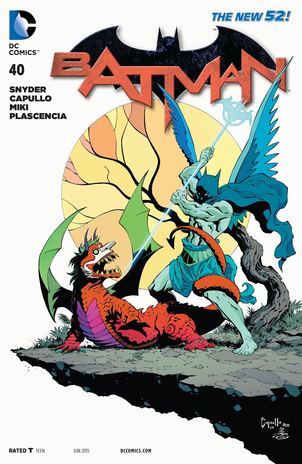 Batman (2011) Issue #40 #59 - English 1
