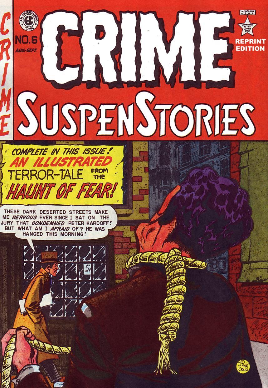 Crime SuspenStories 6 Page 1