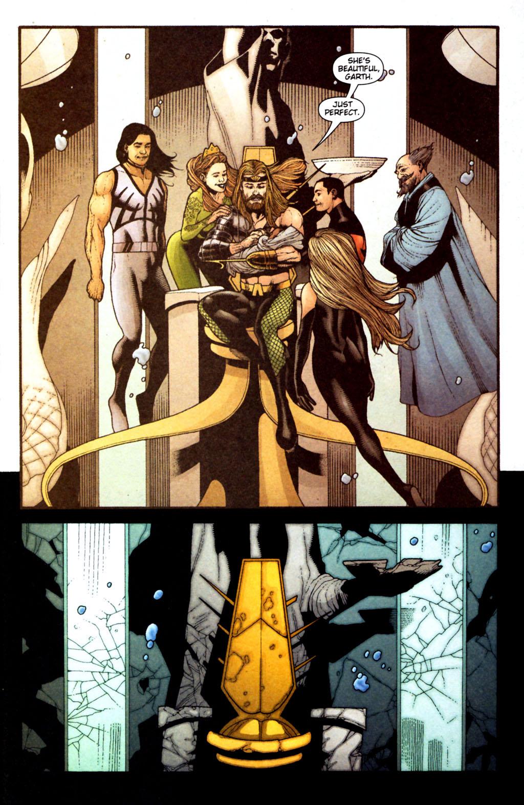 Read online Aquaman (2003) comic -  Issue #38 - 20