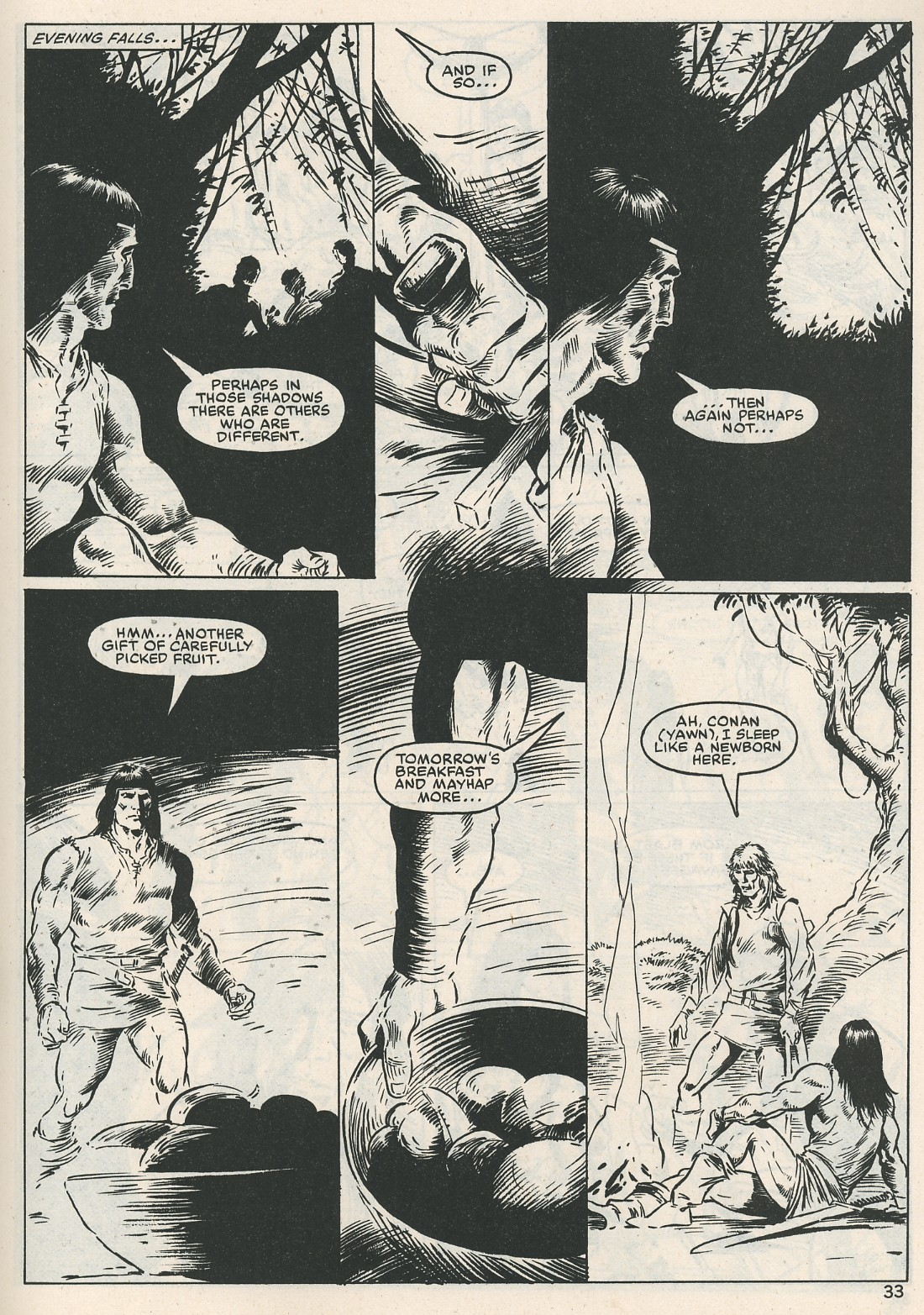 The Savage Sword Of Conan Issue #115 #116 - English 33