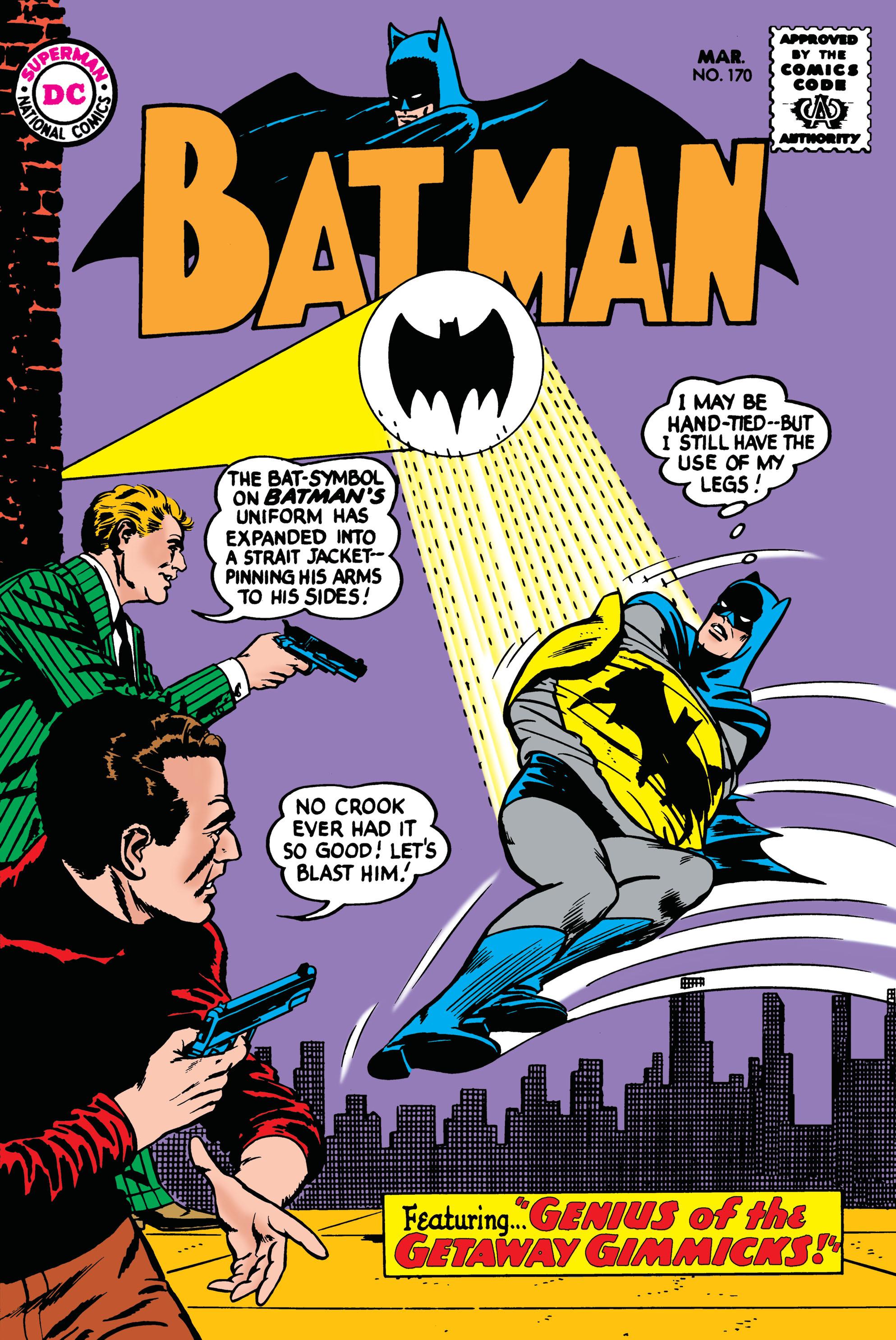 Batman (1940) 170 Page 1