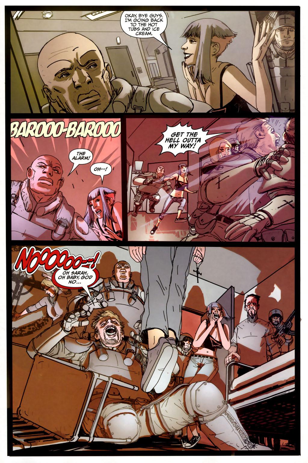Strange Girl Issue #6 #7 - English 11