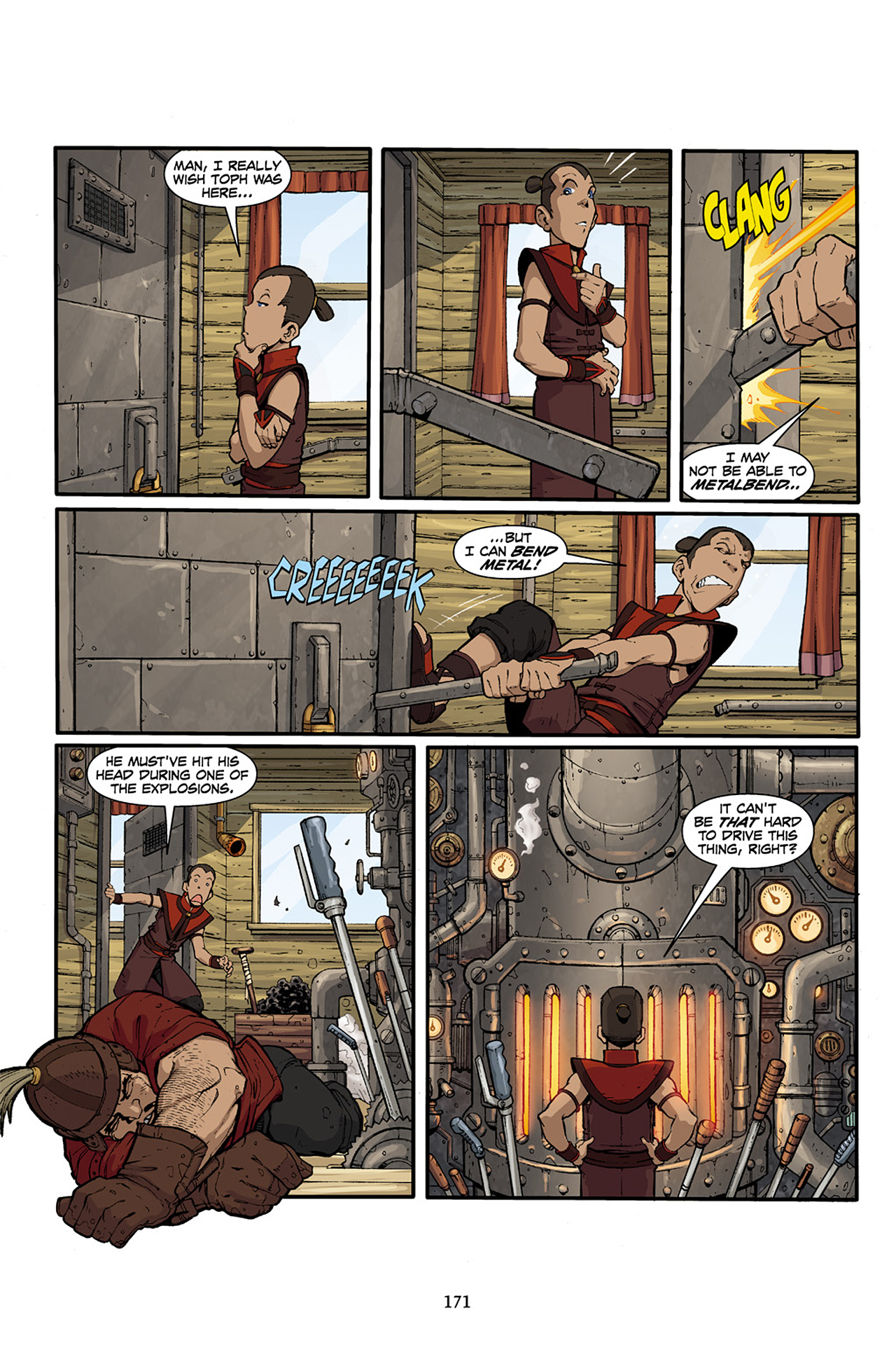 Nickelodeon Avatar: The Last Airbender - The Lost Adventures chap full pic 172