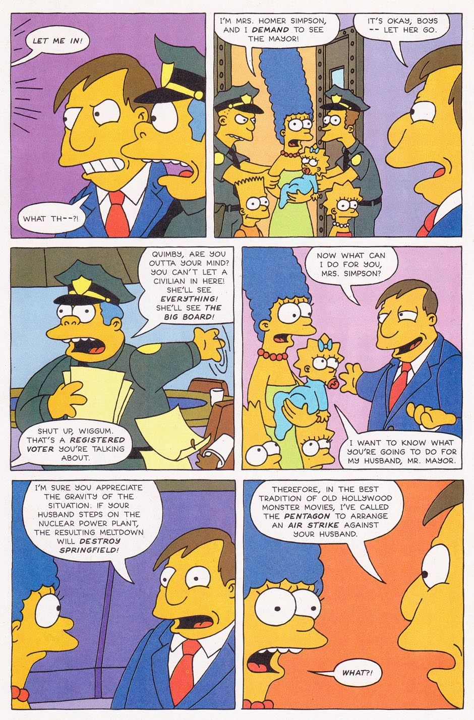 Read online Simpsons Comics comic -  Issue #1 - 19