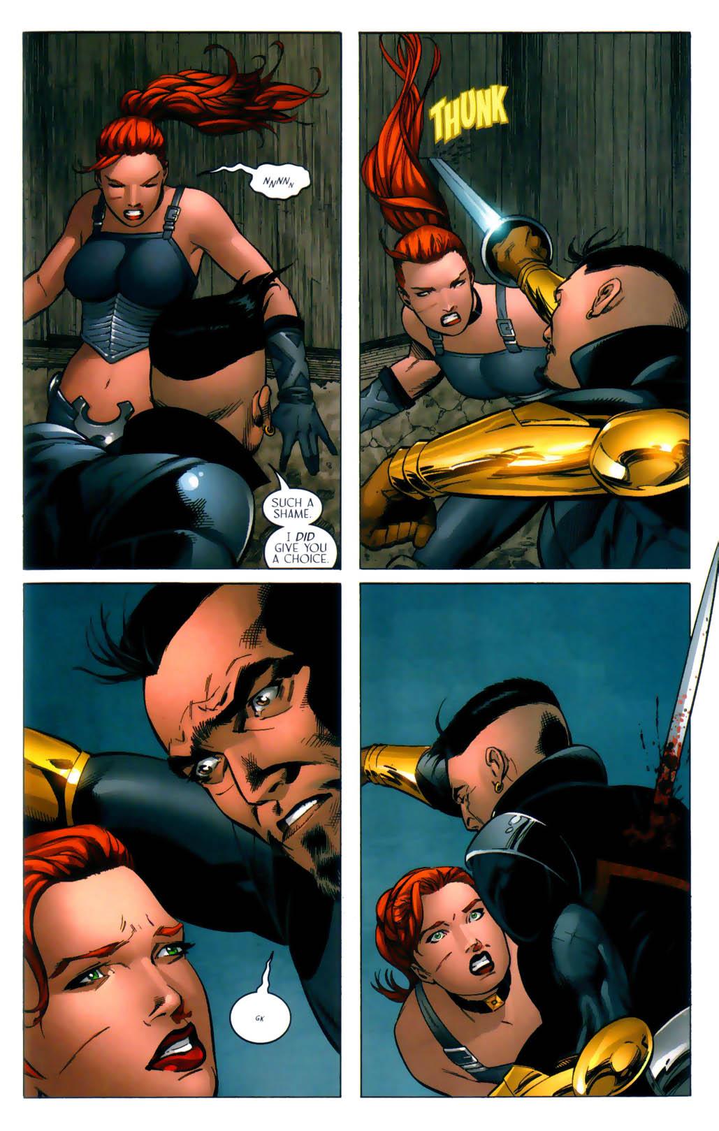 Read online Scion comic -  Issue #30 - 21