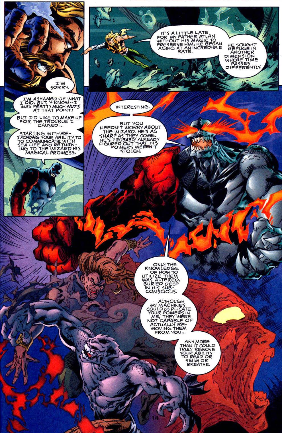 Aquaman (1994) Issue #62 #68 - English 15