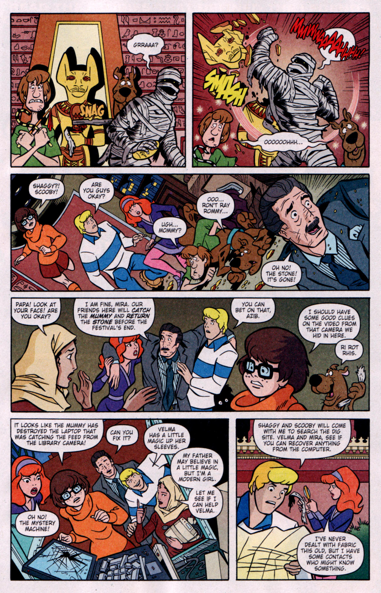 Read online Scooby-Doo (1997) comic -  Issue #119 - 4