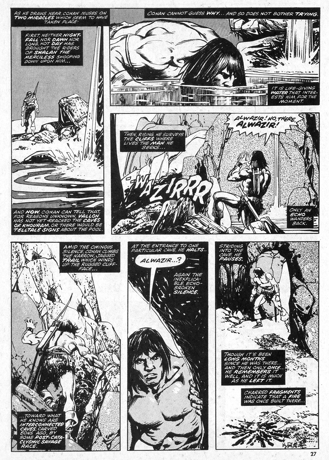 The Savage Sword Of Conan Issue #28 #29 - English 27