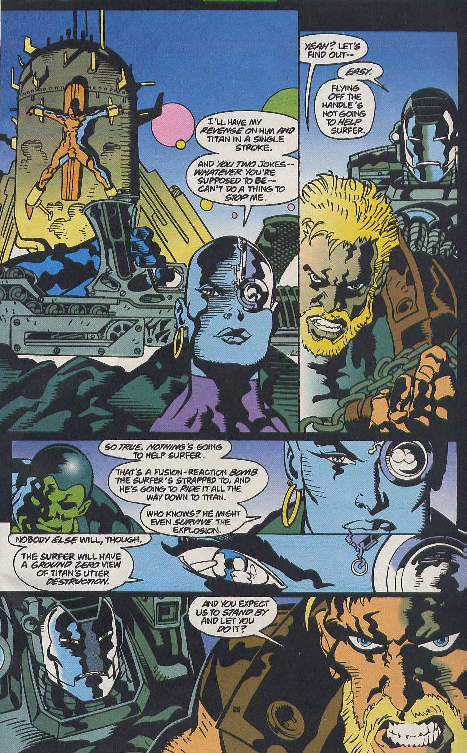 Read online Secret Defenders comic -  Issue #9 - 22