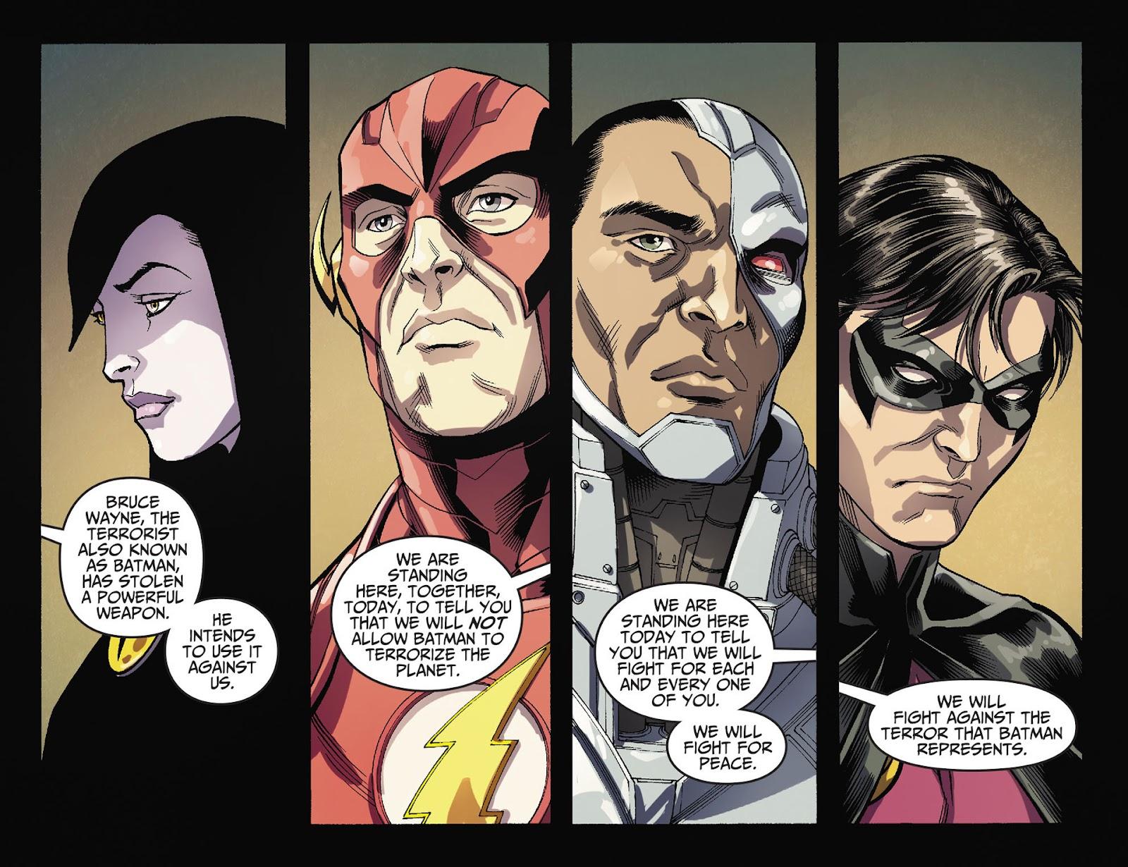 Injustice: Gods Among Us [I] Issue #36 #37 - English 20