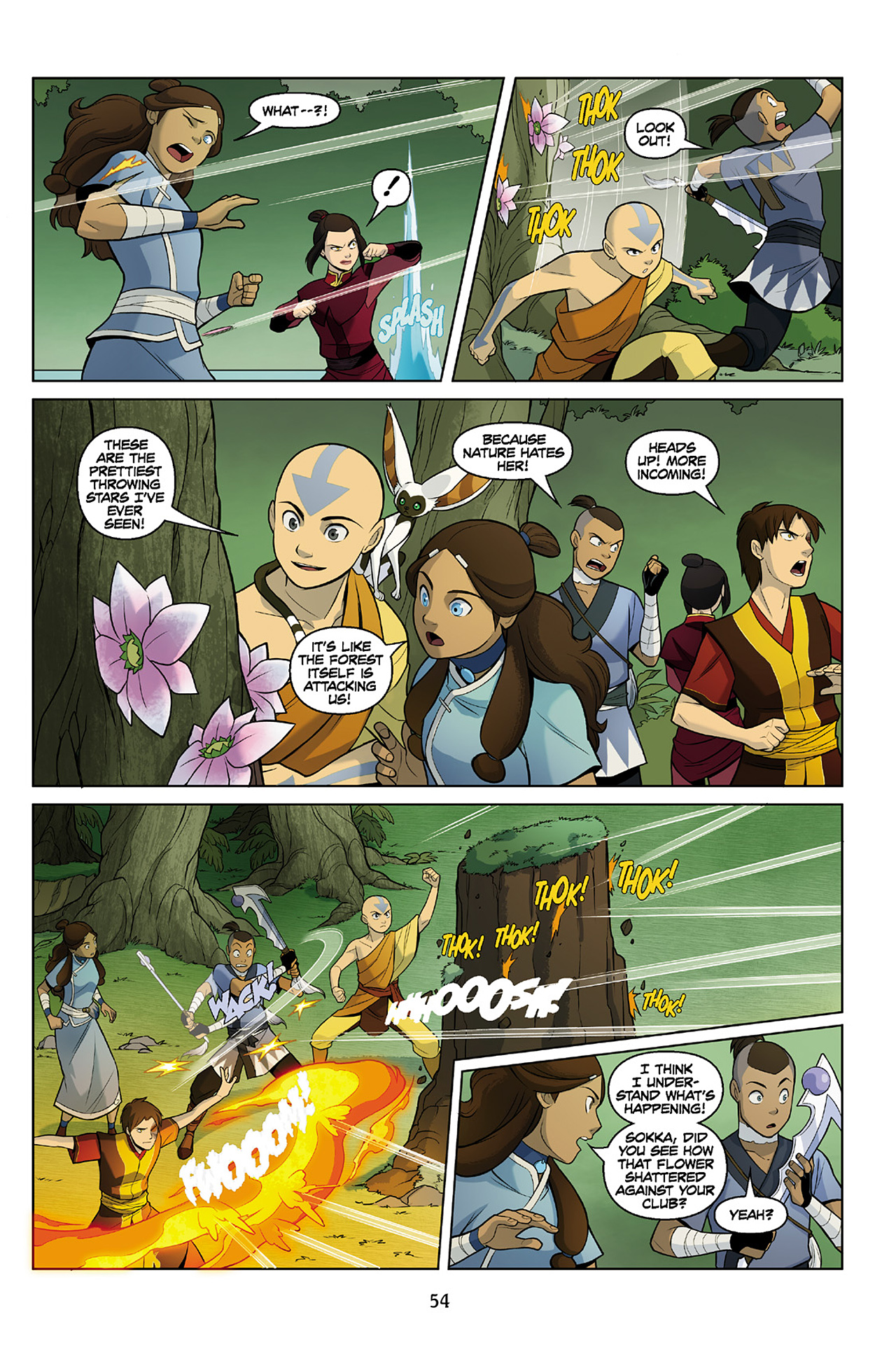 Read online Nickelodeon Avatar: The Last Airbender - The Search comic -  Issue # Part 2 - 55
