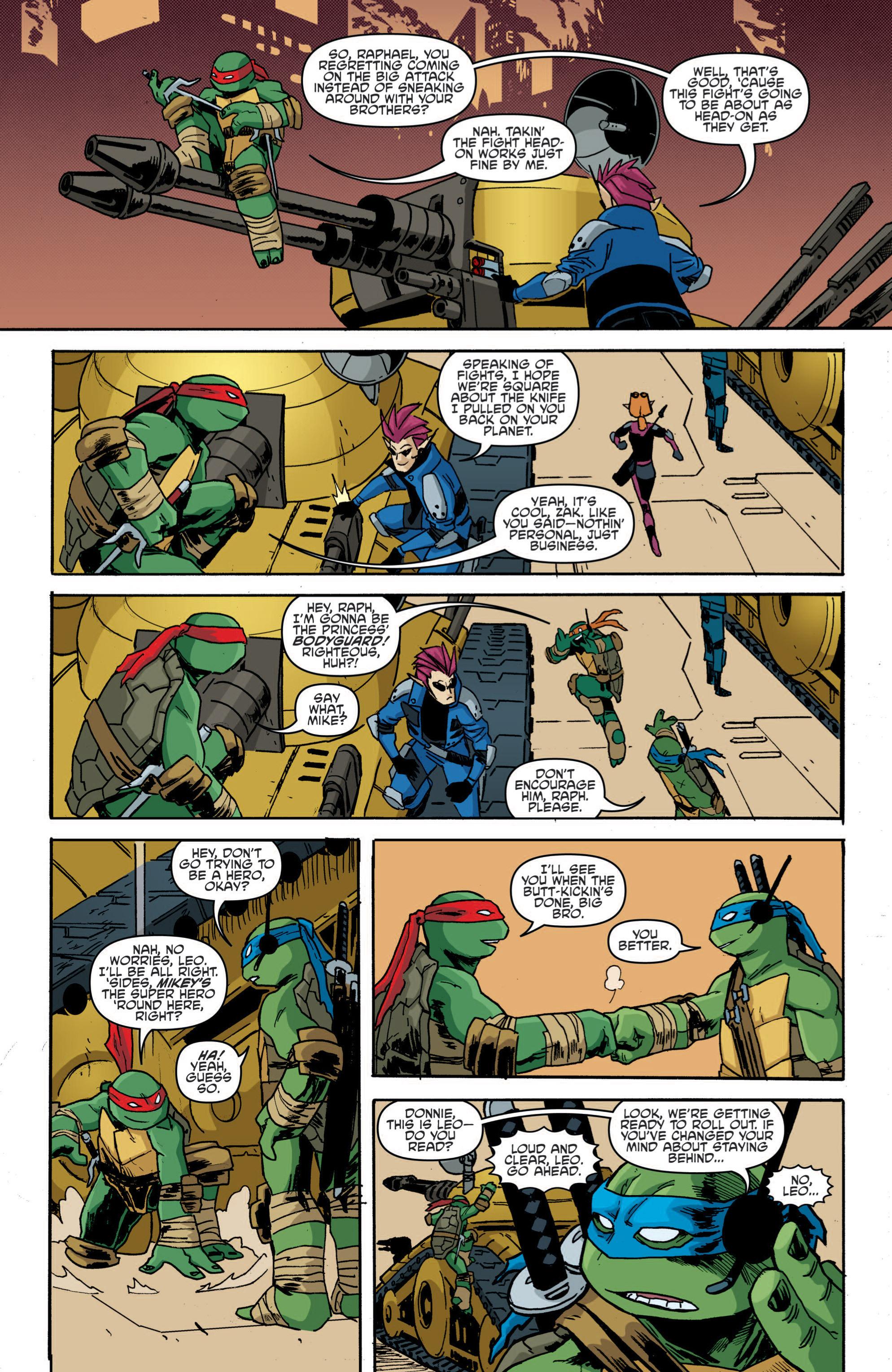 Read online Teenage Mutant Ninja Turtles (2011) comic -  Issue #19 - 18