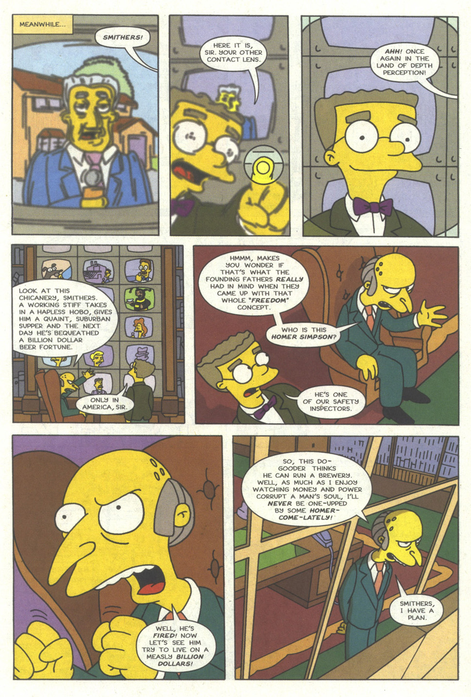 Read online Simpsons Comics comic -  Issue #14 - 10