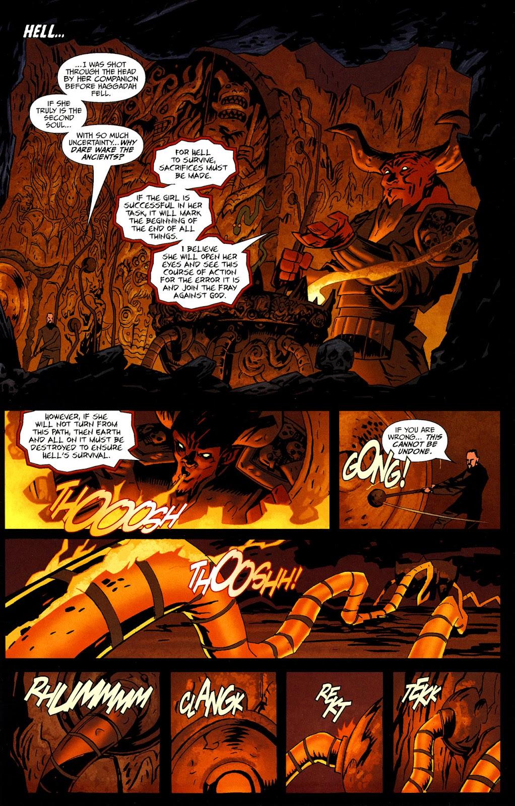 Strange Girl Issue #16 #17 - English 20