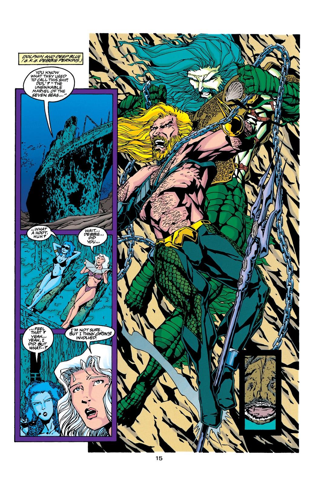 Aquaman (1994) Issue #34 #40 - English 13