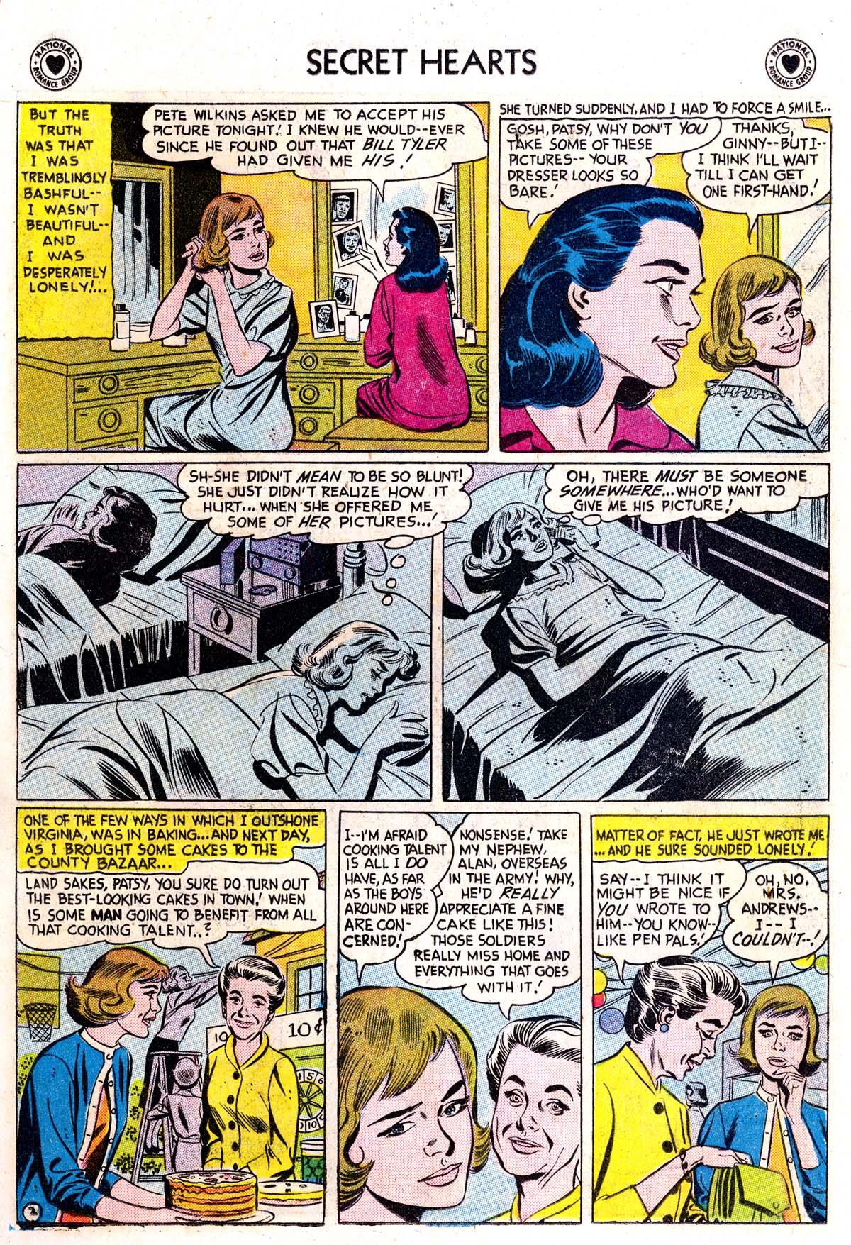 Read online Secret Hearts comic -  Issue #42 - 11