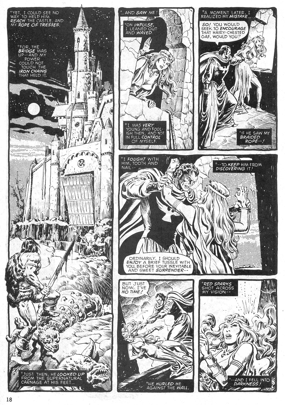 The Savage Sword Of Conan Issue #29 #30 - English 18