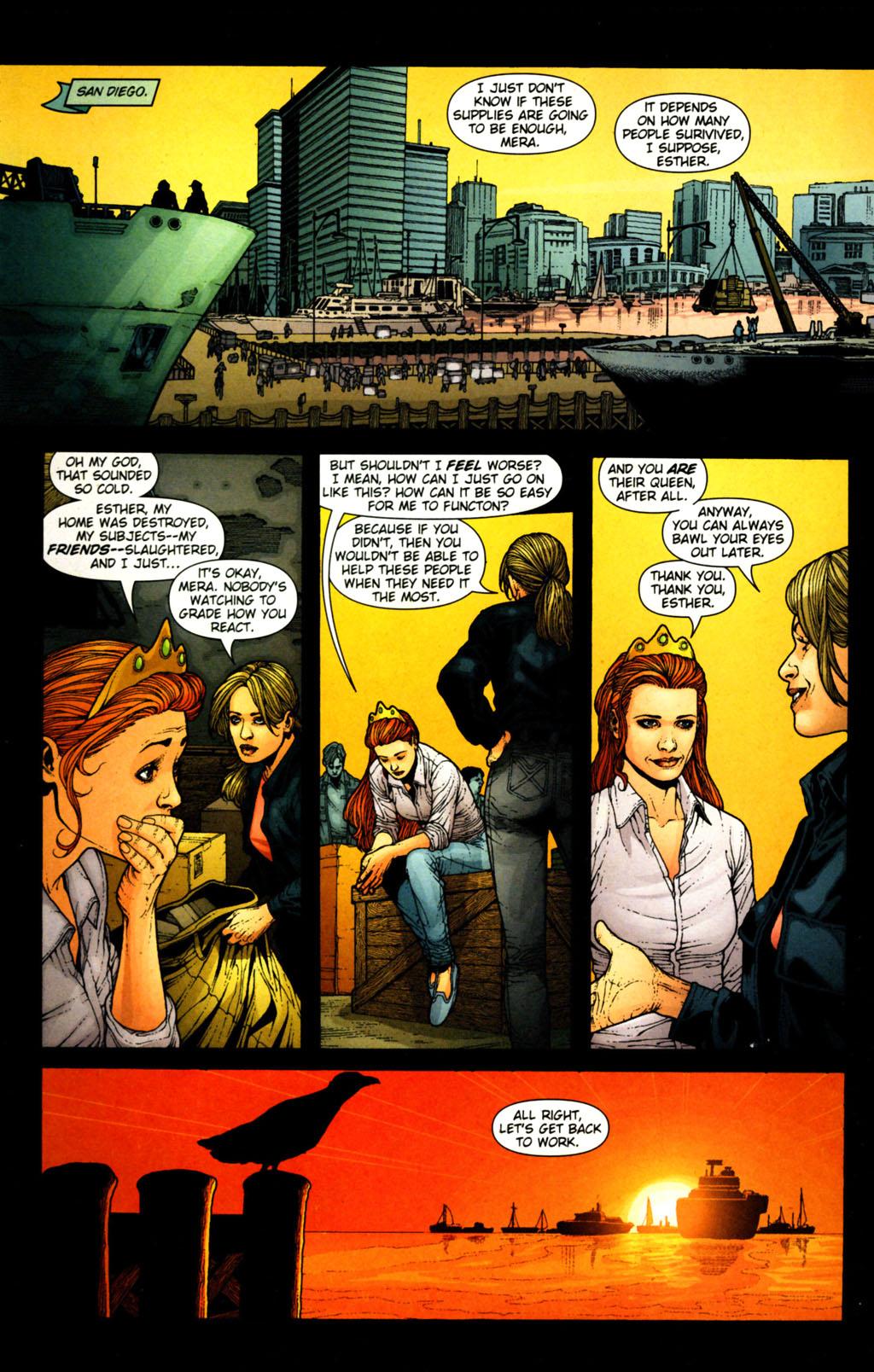 Read online Aquaman (2003) comic -  Issue #38 - 13