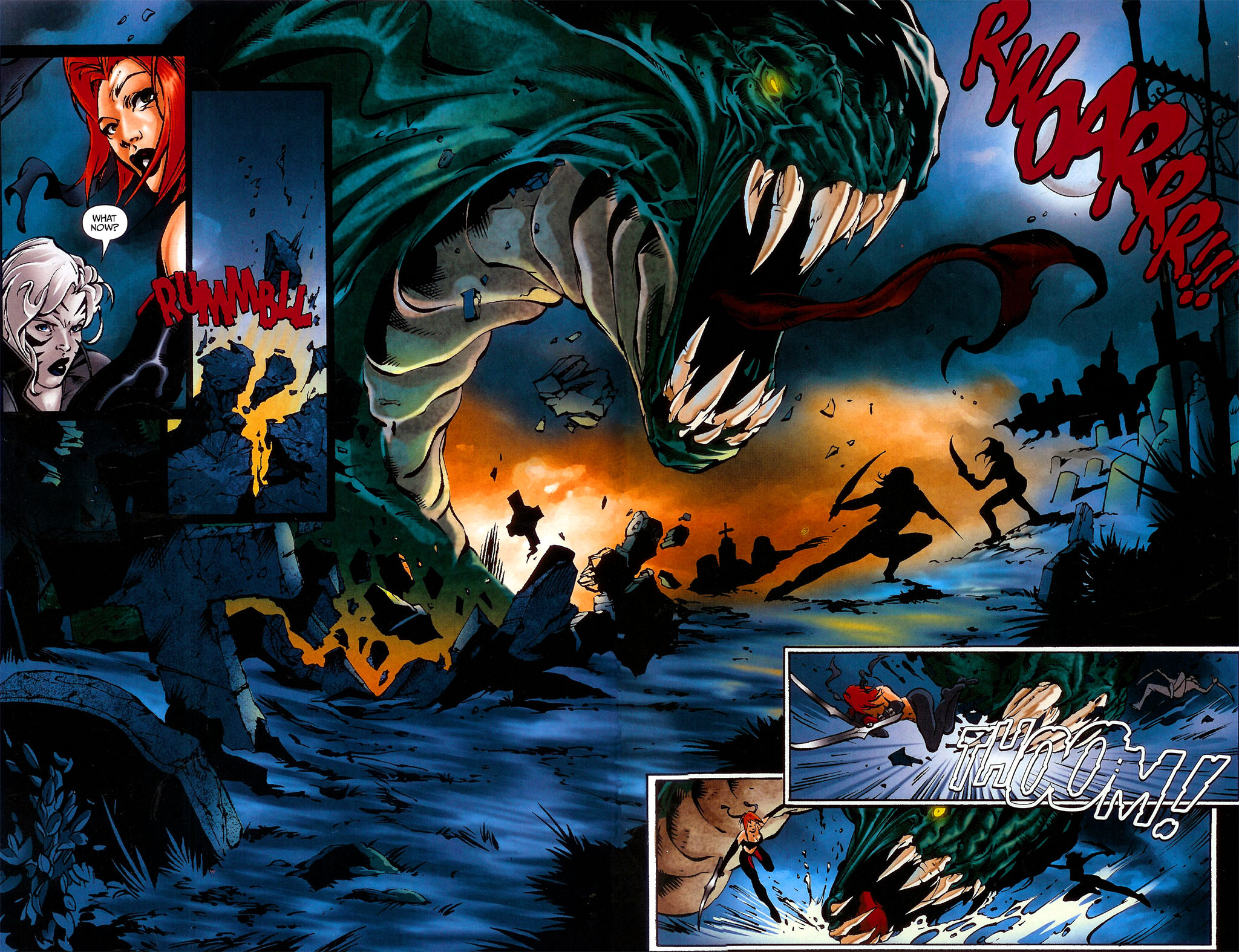 Read online BloodRayne: Dark Soul comic -  Issue # Full - 11