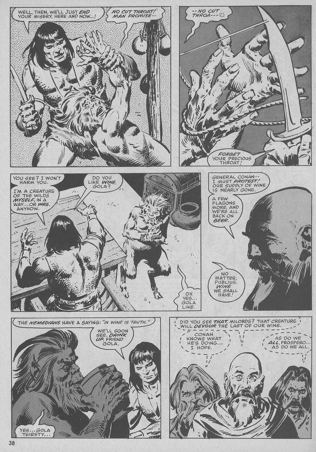 The Savage Sword Of Conan Issue #51 #52 - English 38