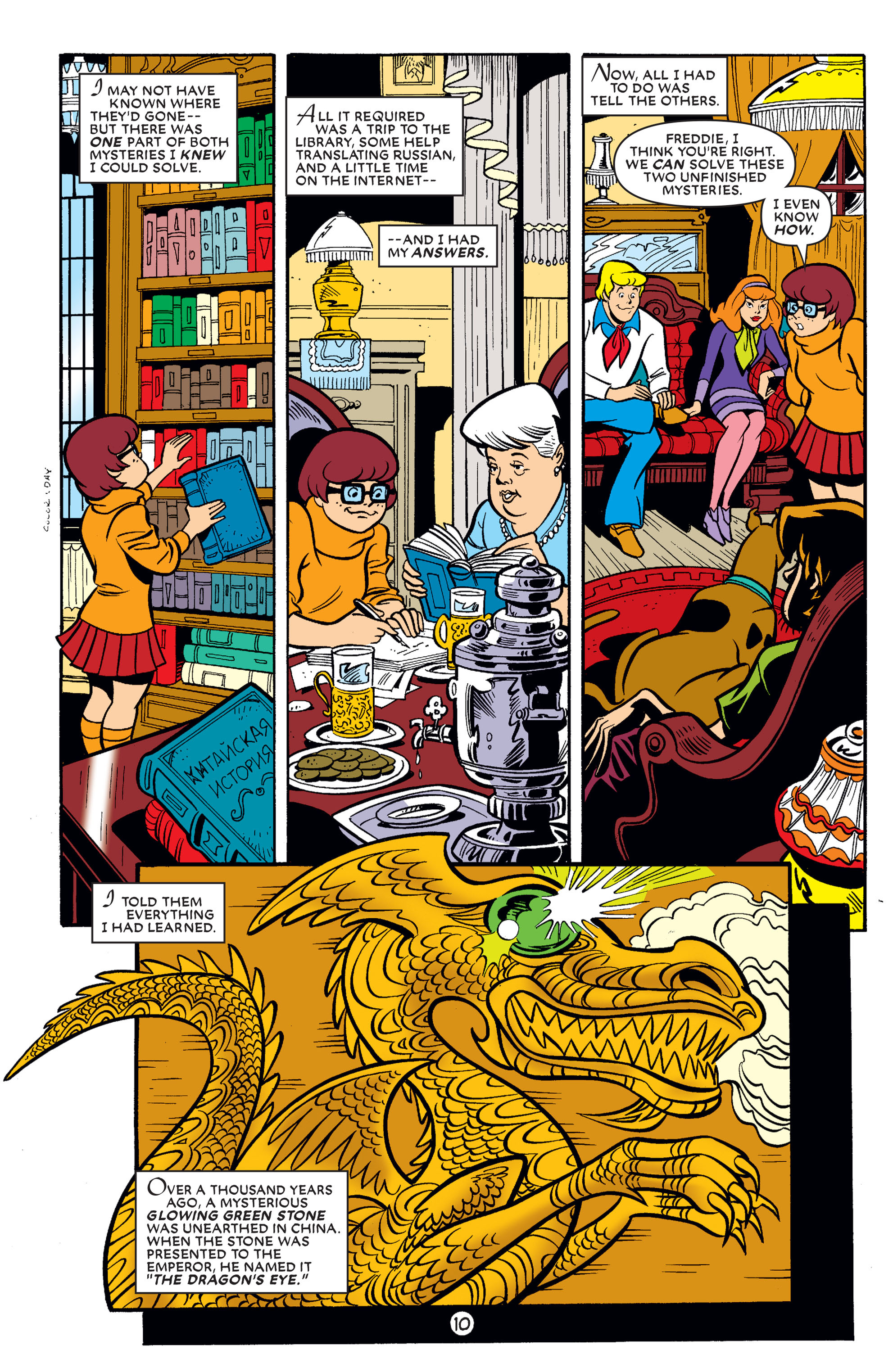 Read online Scooby-Doo (1997) comic -  Issue #60 - 22