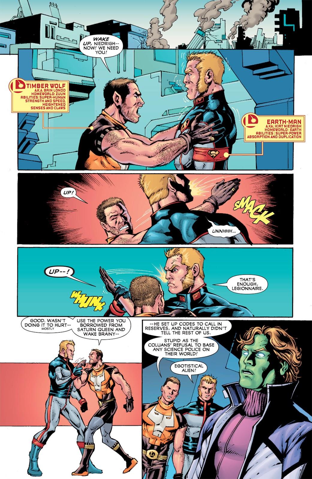 Legion of Super-Heroes (2010) Issue #13 #14 - English 4
