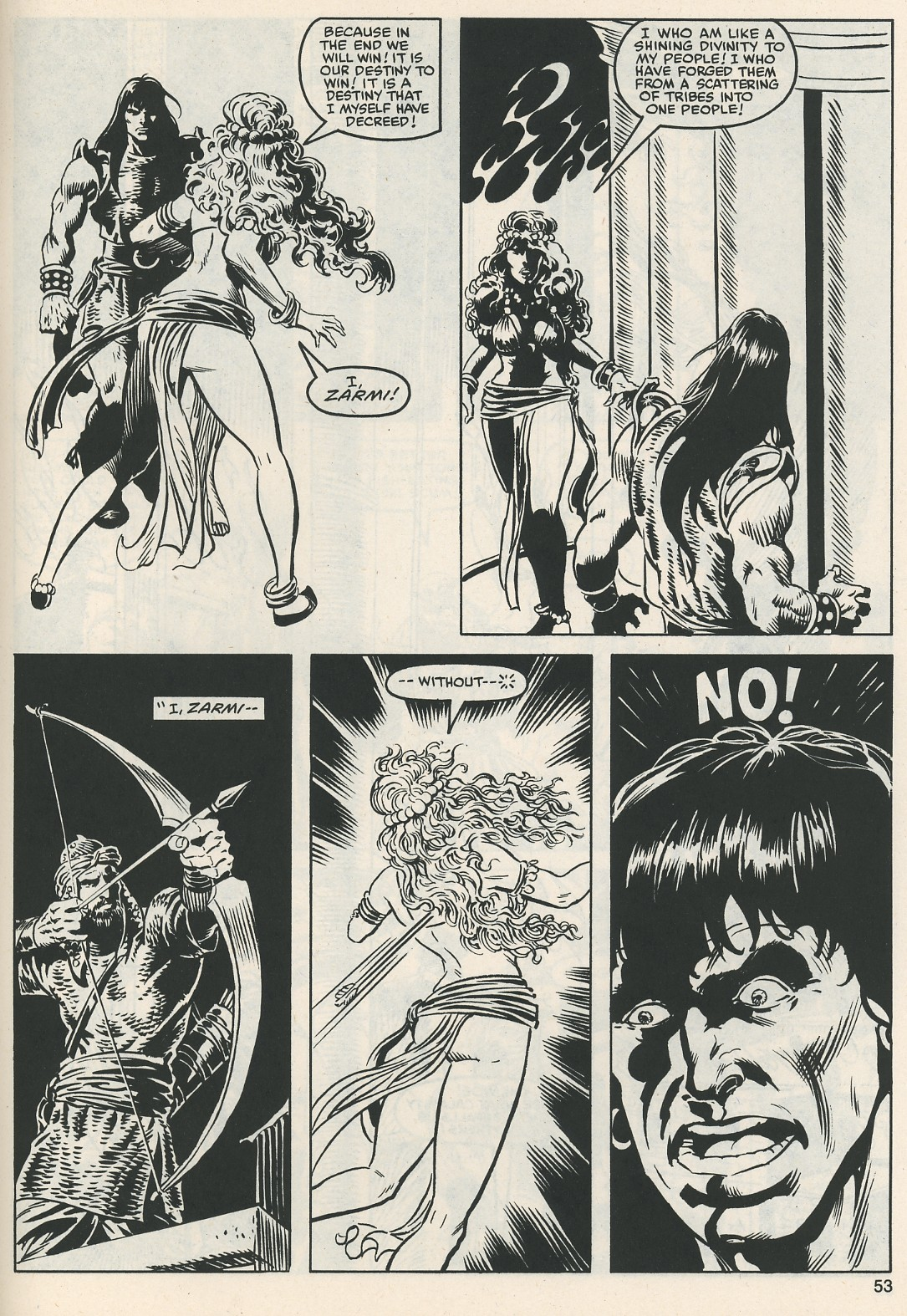 The Savage Sword Of Conan Issue #112 #113 - English 55