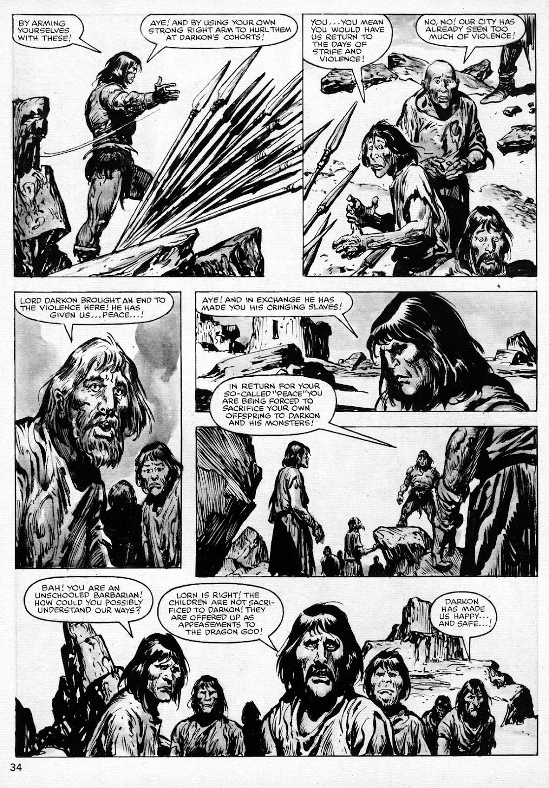 The Savage Sword Of Conan Issue #77 #78 - English 34