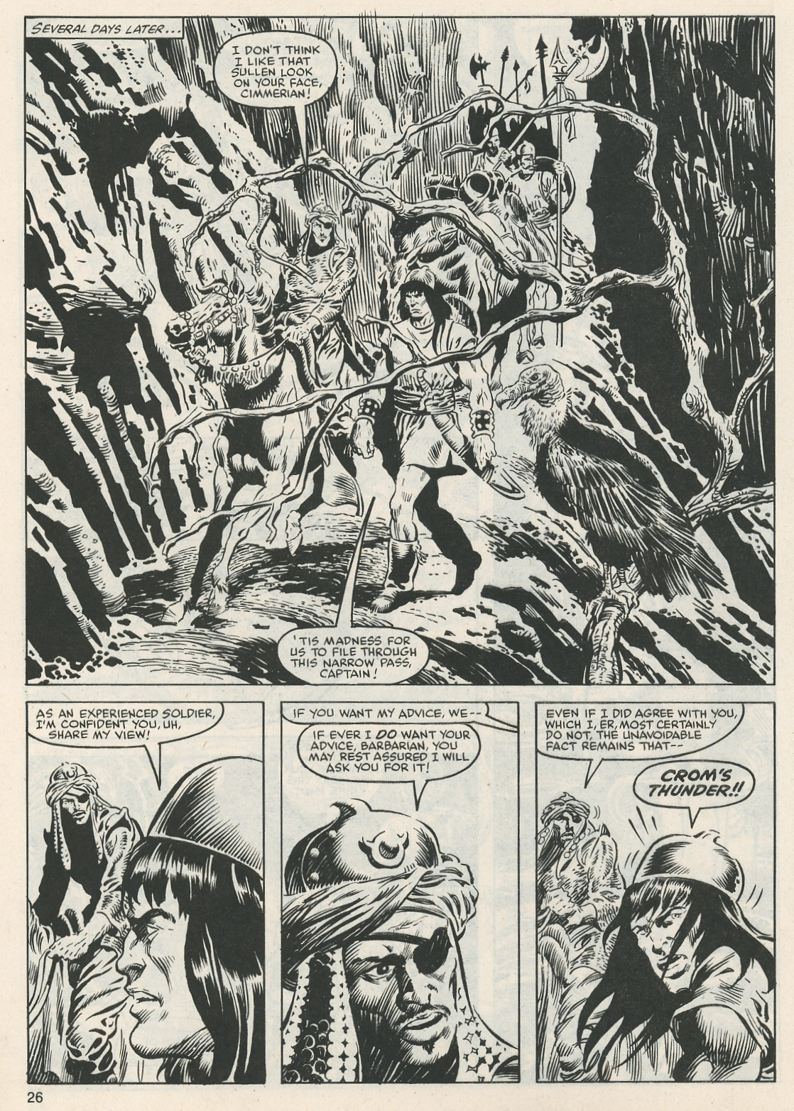 The Savage Sword Of Conan Issue #112 #113 - English 27