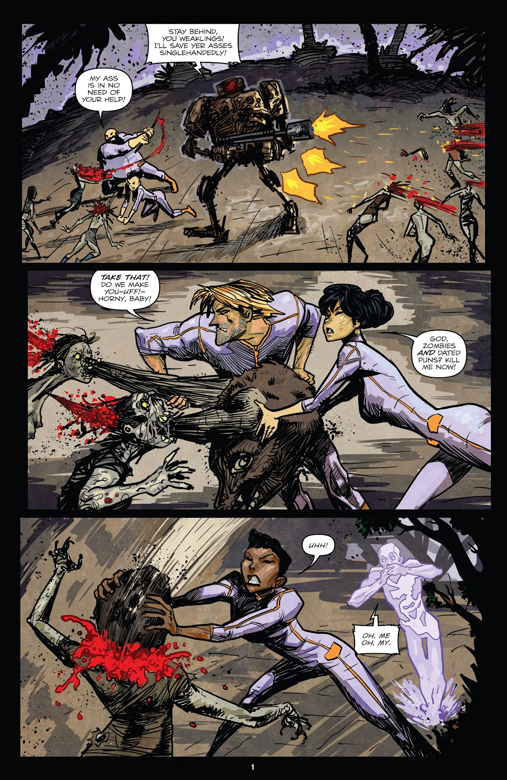 Zombies vs Robots (2015) Issue #6 Page 4