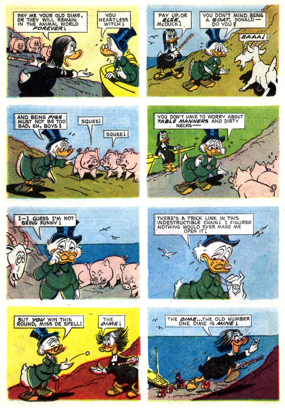 Uncle Scrooge (1953) Issue #40 #40 - English 16