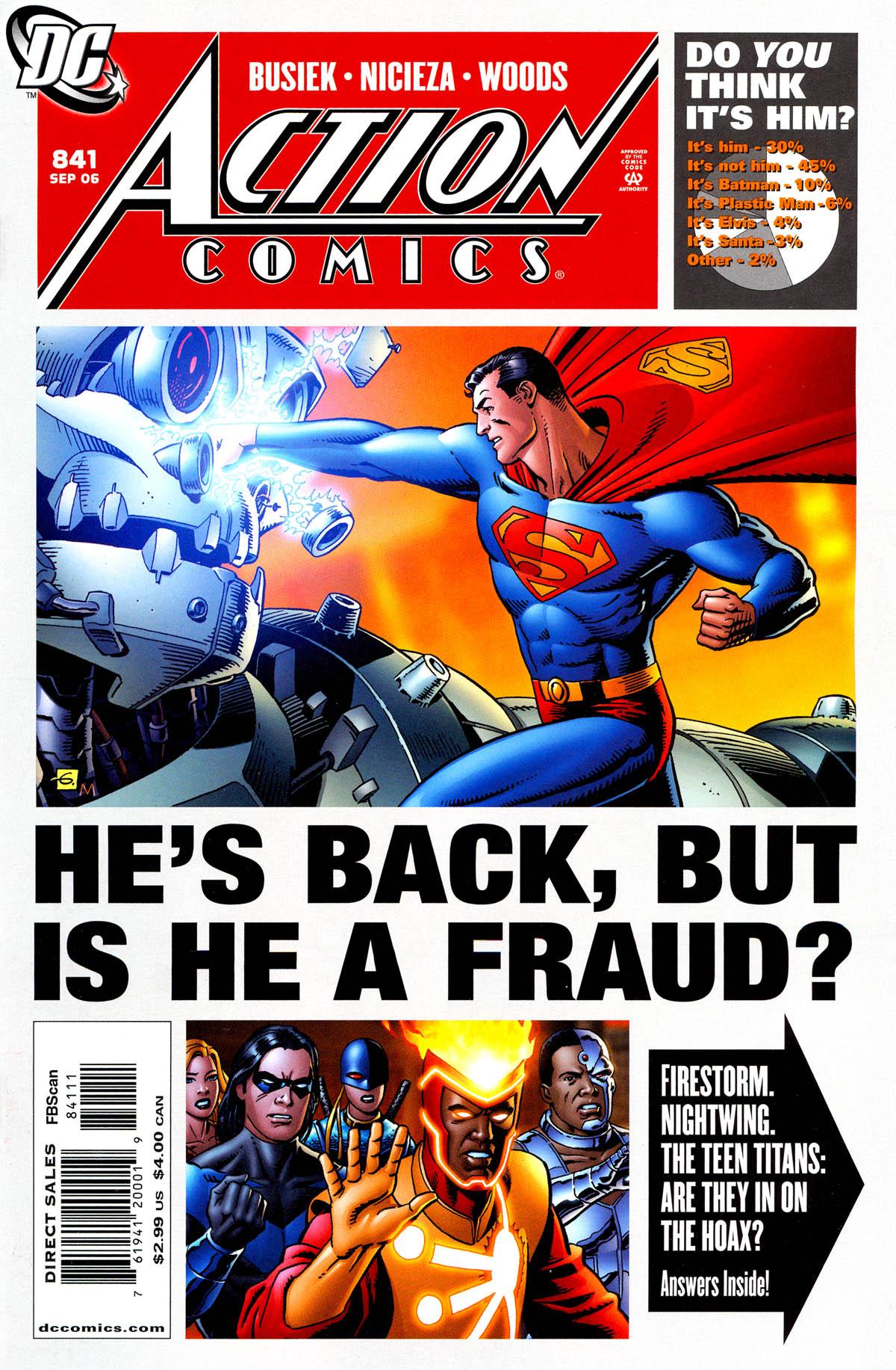 Action Comics (1938) 841 Page 1