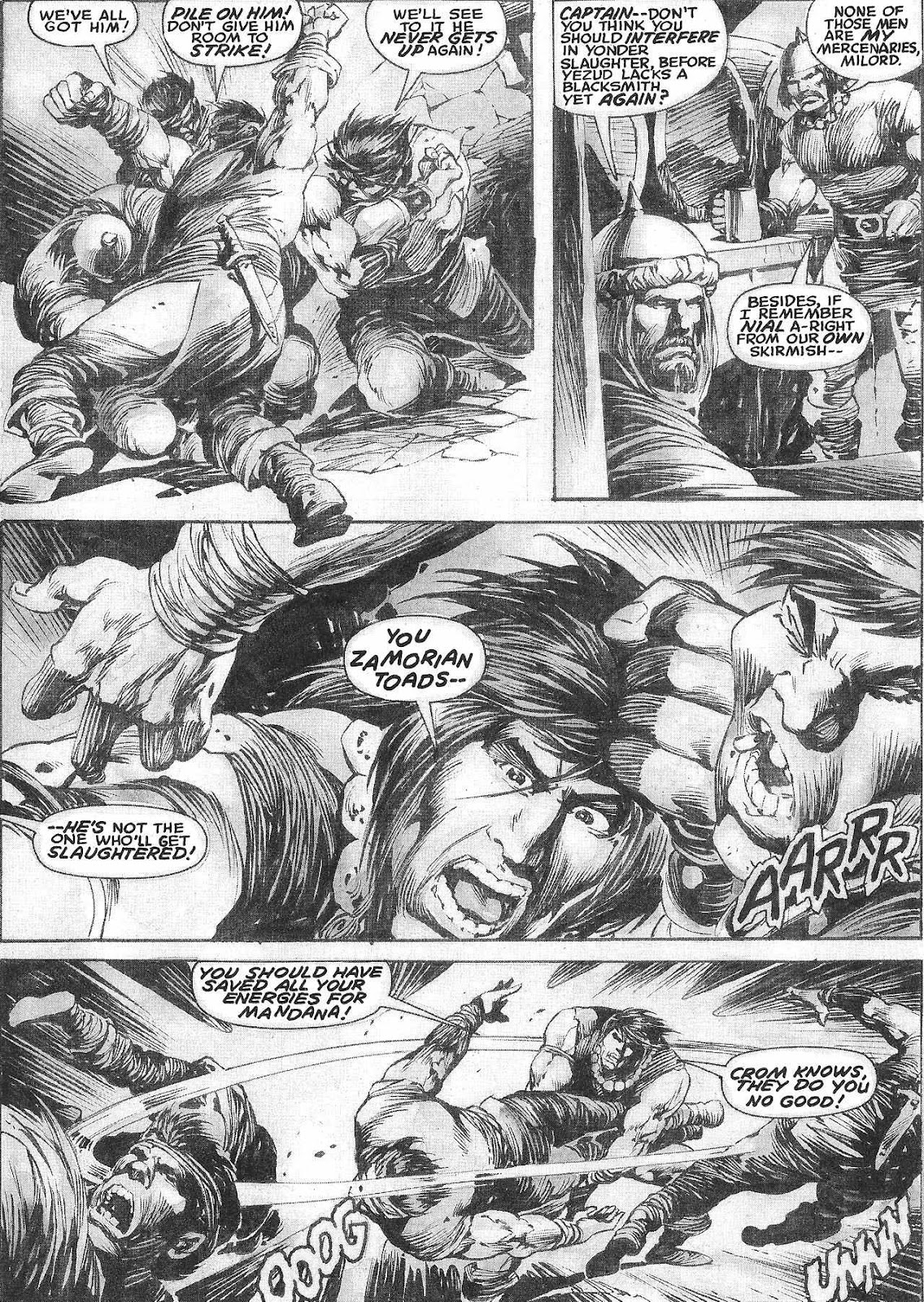 The Savage Sword Of Conan Issue #209 #210 - English 19