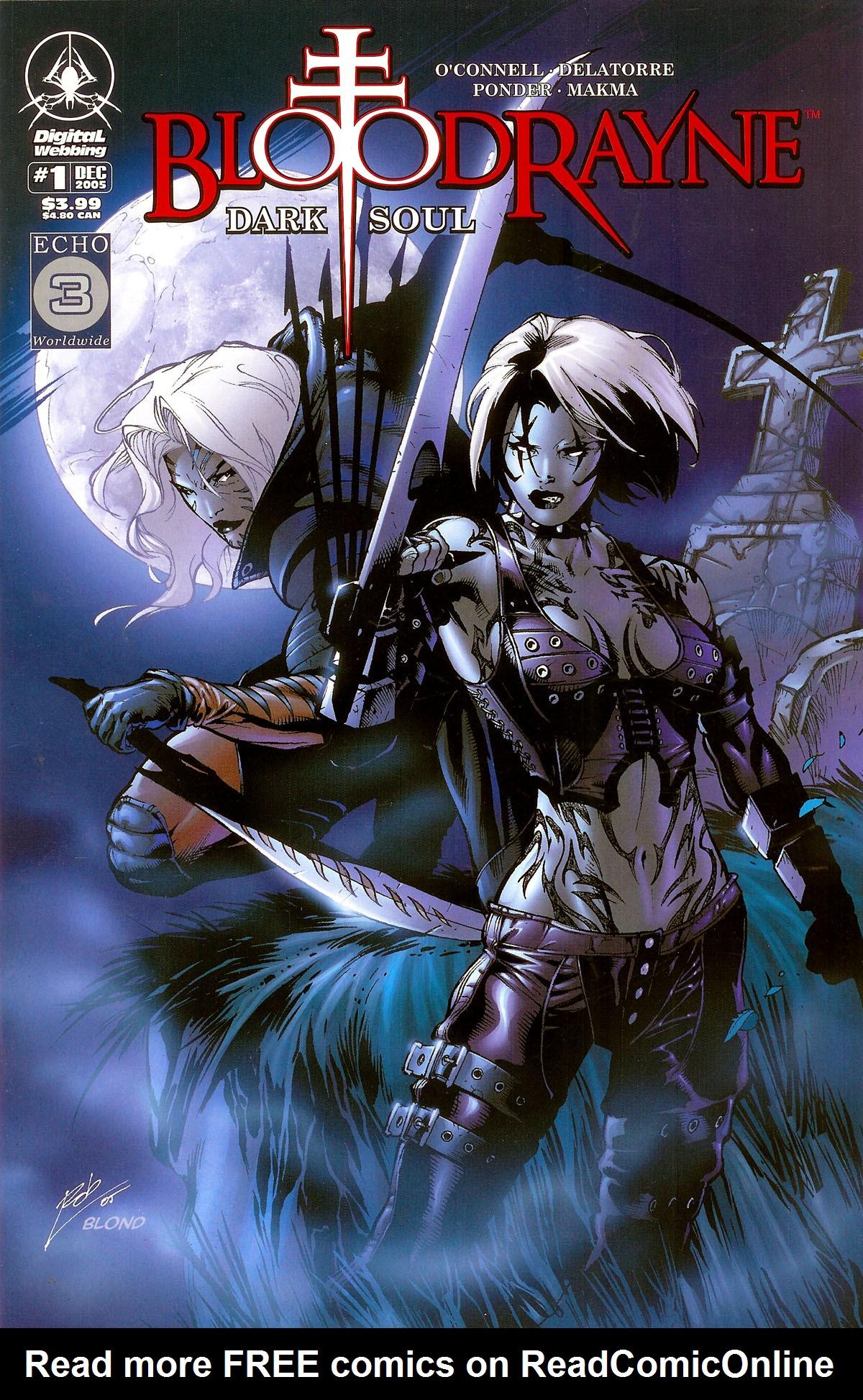 Read online BloodRayne: Dark Soul comic -  Issue # Full - 1