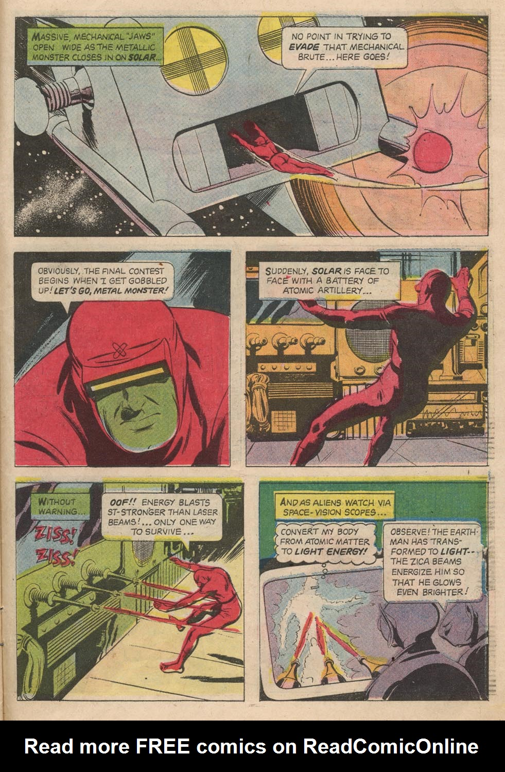 Doctor Solar, Man of the Atom (1962) 21 Page 25