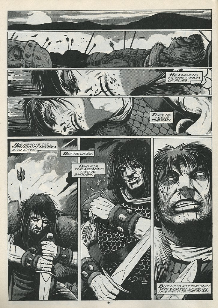 The Savage Sword Of Conan Issue #176 #177 - English 46