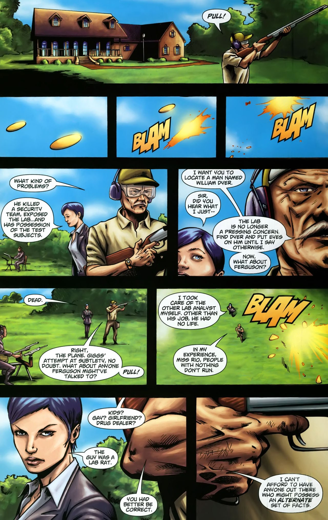 Read online Martian Manhunter (2006) comic -  Issue #3 - 6