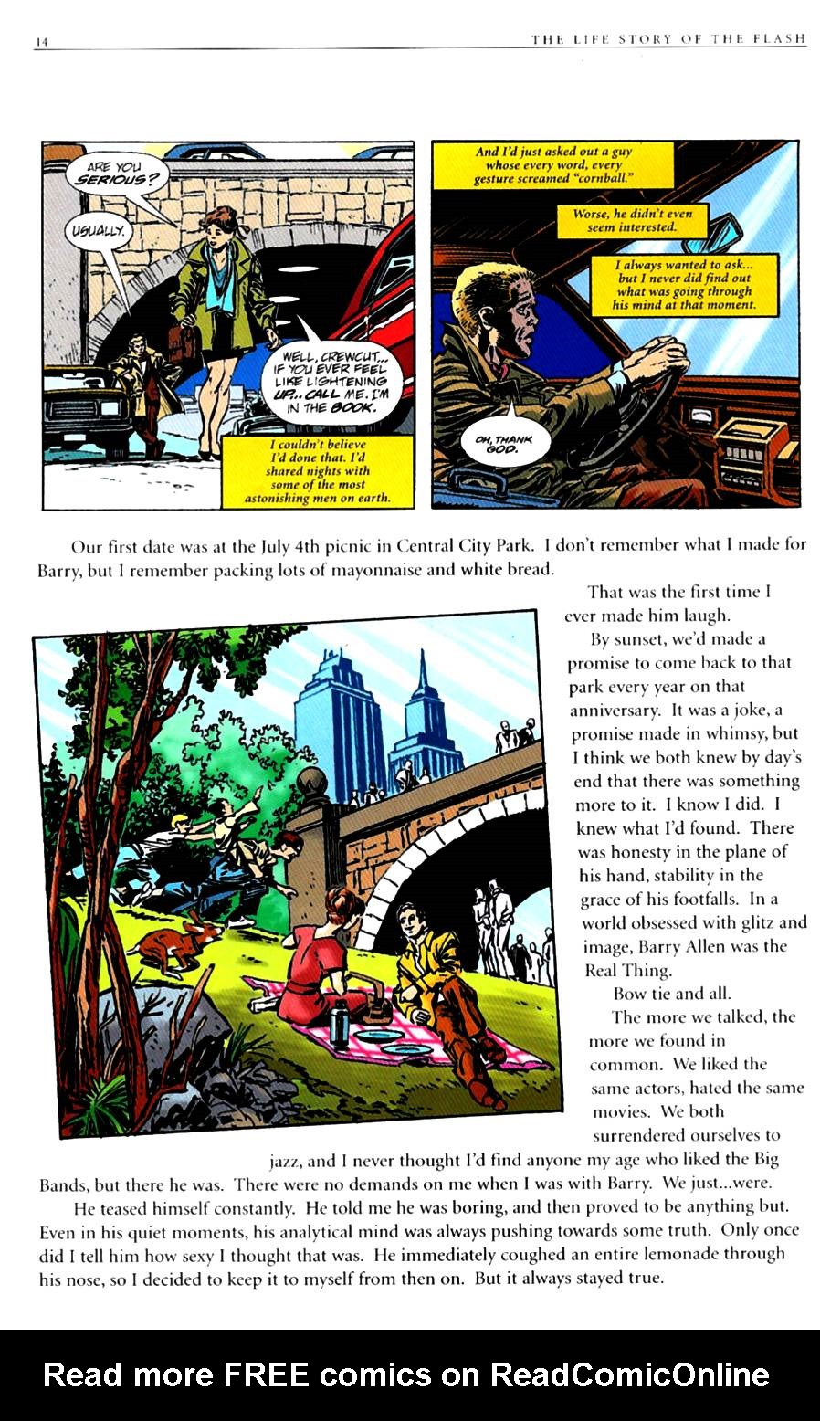 Read online The Life Story of the Flash comic -  Issue # Full - 16
